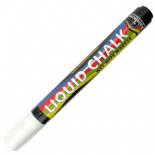 White Rainbow Chalk 5mm Chisel Nib Liquid Chalk Marker